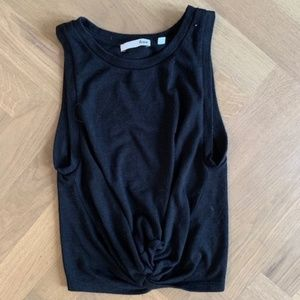 Wilfred Free Front Knot Knit Tank